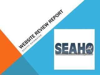 Website Review Report