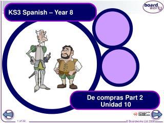 KS3 Spanish – Year 8