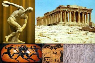 -Ubican espacial y temporalmente la civilización griega.
