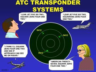 ATC TRANSPONDER SYSTEMS