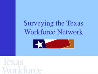 Surveying the Texas Workforce Network