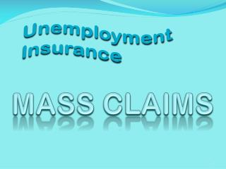 Mass Claims