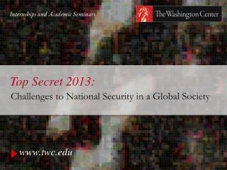 Top Secret 2013: