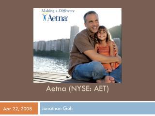 Aetna (NYSE: AET)