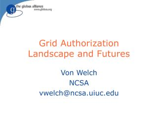 Grid Authorization Landscape and Futures