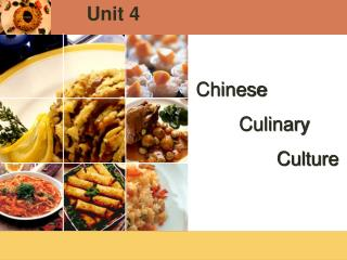 Chinese         Culinary                Culture