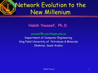 Network Evolution to the New Millenium