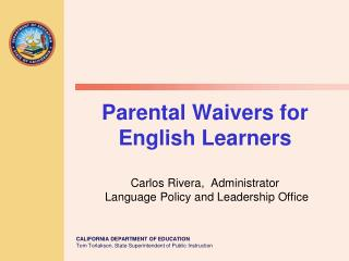Placement of English Learners