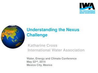Linking  e nergy, water and food resources