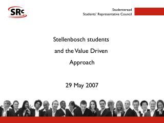 Studenteraad Students' Representative Council