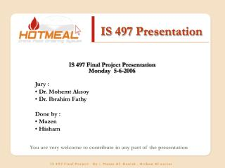 IS 497 Presentation