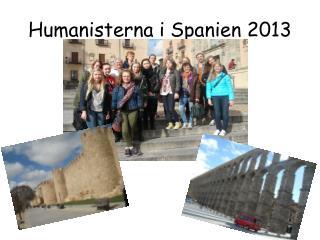 Humanisterna i Spanien 2013