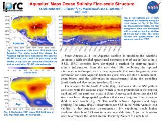 'Aquarius' Maps Ocean Salinity Fine-scale Structure
