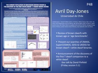 Avril Day-Jones Universidad de Chile