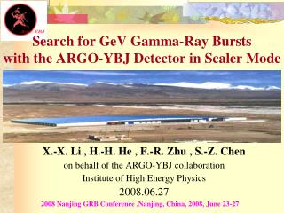 Search for GeV Gamma-Ray Bursts  with the ARGO-YBJ Detector in Scaler Mode