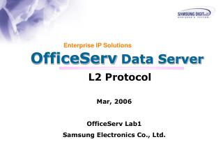 OfficeServ  Data Server