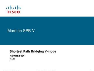 More on SPB-V