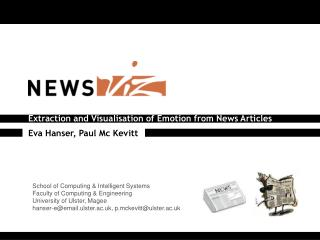 Extraction  and  Visualisation  of  Emotion from News Articles