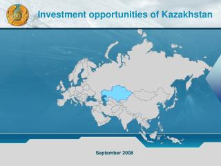 Investment opportunities of Kazakhstan