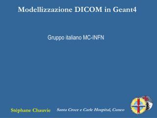 Modellizzazione DICOM in Geant4
