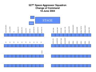 527 th  Space Aggressor Squadron Change of Command 18 June 2004