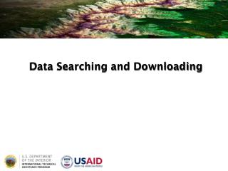 Data Searching and Downloading