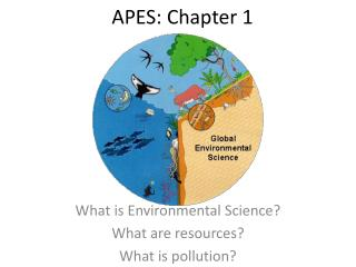 APES: Chapter 1