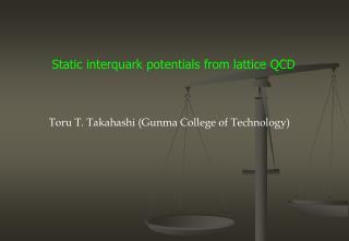 Static  interquark  potentials from lattice QCD