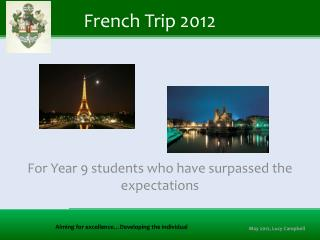 French Trip 2012