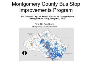 Montgomery County Bus Stop Improvements Program