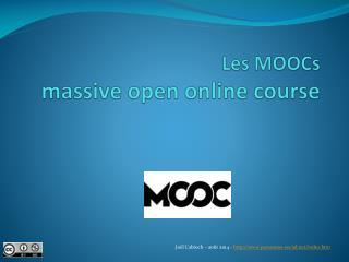 Les  MOOCs massive open online course