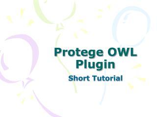 Protege OWL Plugin