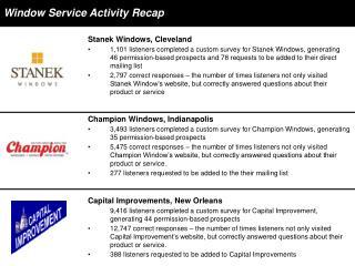 Capital Improvements, New Orleans
