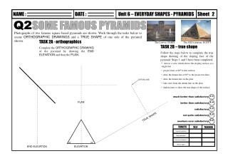 TASK 2A - orthographics