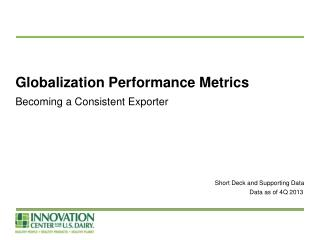 Globalization Performance Metrics