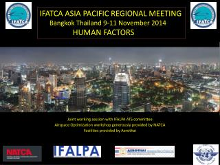 Joint working session with IFALPA ATS committee