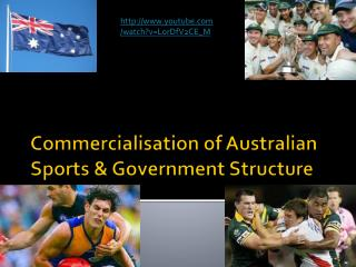 Commercialisation of Australian Sports & Government Structure