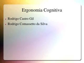 Ergonomia Cognitiva