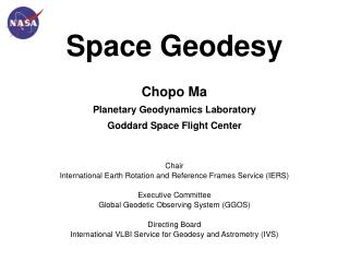 Space Geodesy