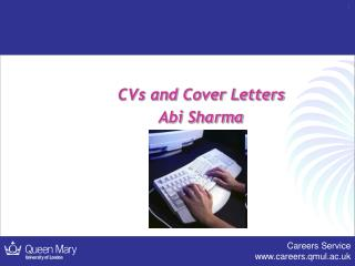 CVs and Cover Letters Abi Sharma