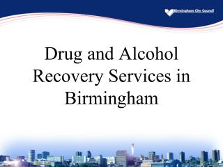 Drug and Alcohol Recovery Services in Birmingham