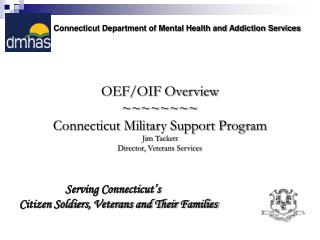Connecticut Department of Mental Health and Addiction Services