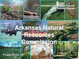 Arkansas Conservation Districts Training Program
