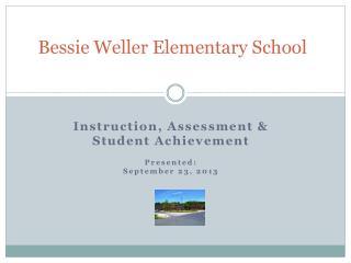 Bessie Weller Elementary School