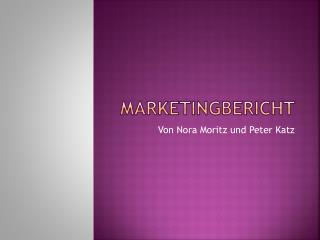 Marketingbericht
