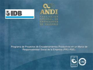Proyecto BID � ANDI PRO-RSE
