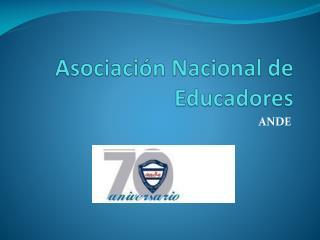 Asociación Nacional de Educadores