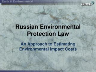 Russian Environmental Protection Law