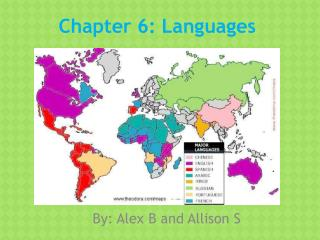 Chapter 6: Languages