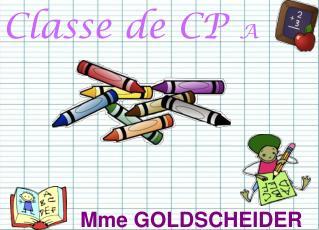 Classe de CP  A